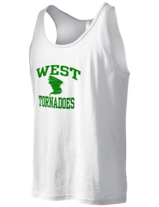 West Elementary School tornadoes Men's Jersey Tank