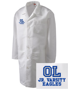 Oak Lawn Elementary School Eagles Full-Length Lab Coat