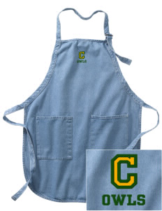 Camden Primary School Owls Embroidered Full-Length Apron with Pockets