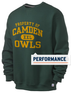 Camden Primary School Owls  Russell Men's Dri-Power Crewneck Sweatshirt