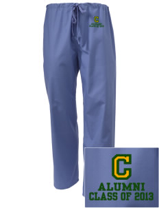 Camden Primary School Owls Embroidered Scrub Pants