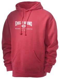 Emily Spong Elementary School Cadets Men's 80/20 Pigment Dyed Hooded Sweatshirt