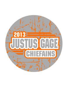 Justus Gage Elementary School Chiefains Sticker