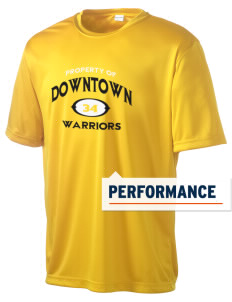 Downtown Middle School Warriors Men's Competitor Performance T-Shirt