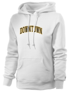 Downtown Middle School Warriors Russell Women's Pro Cotton Fleece Hooded Sweatshirt