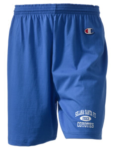 "Solana Santa Fe Elementary School Coyotes  Champion Women's Gym Shorts, 6"" Inseam"