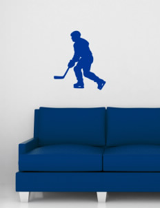 "Gowanda School Panthers Wall Silhouette Decal 20"" x 24"""