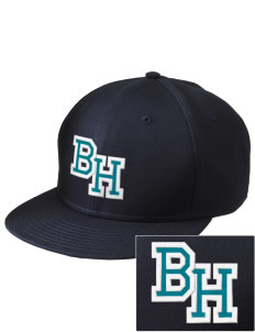 Breeze Hill Elementary School Coyotes  Embroidered New Era Flat Bill Snapback Cap