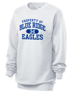 Blue Ridge Elementary School Eagles Unisex 7.8 oz Lightweight Crewneck Sweatshirt