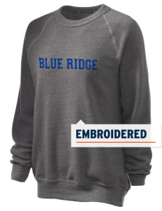 Blue Ridge Elementary School Eagles Embroidered Unisex Alternative Eco-Fleece Raglan Sweatshirt