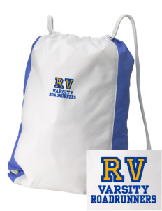 Rancho Vista Elementary School Roadrunners Embroidered Holloway Home and Away Cinch Bag