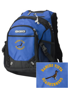 Rancho Vista Elementary School Roadrunners Embroidered OGIO Fugitive Backpack