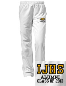 Indianola Junior High School Lynx Embroidered Women's Tricot Track Pants