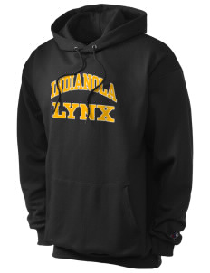 Indianola Junior High School Lynx Champion Men's Hooded Sweatshirt
