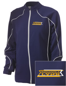 Indianola Junior High School Lynx Embroidered Russell Women's Full Zip Jacket