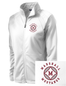 Marshall Middle School Mustangs Embroidered Women's Tricot Track Jacket
