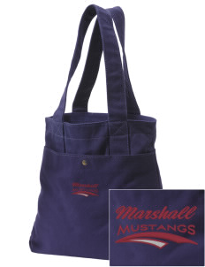 Marshall Middle School Mustangs Embroidered Alternative The Berkeley Tote