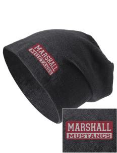 Marshall Middle School Mustangs Embroidered Slouch Beanie