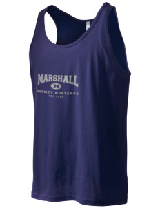 Marshall Middle School Mustangs Men's Jersey Tank