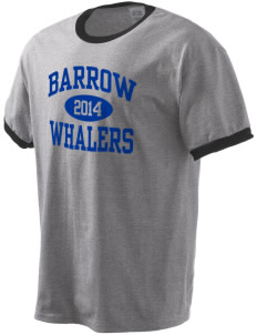 Barrow High School Whalers Men's Ringer T-Shirt