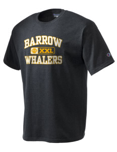 Barrow High School Whalers Champion Men's Tagless T-Shirt