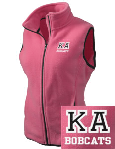 Kern Avenue Elementary School Bobcats Embroidered Women's Fleece Vest