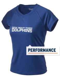 Hermosa Valley School Dolphins Champion Women's Wicking T-Shirt
