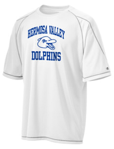 Hermosa Valley School Dolphins Champion Men's 4.1 oz Double Dry Odor Resistance T-Shirt