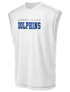 Hermosa Valley School Dolphins Champion Men's 4.1 oz Double Dry Odor Resistance Muscle T-Shirt