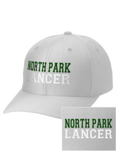 North Park Middle School Lancer Embroidered Wool Adjustable Cap