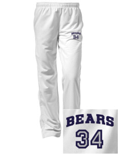 Burton Elementary School Bears Embroidered Women's Tricot Track Pants