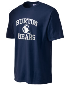 Burton Elementary School Bears Tall Men's Essential T-Shirt