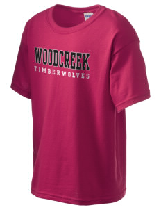Woodcreek High School Timberwolves Kid's 6.1 oz Ultra Cotton T-Shirt