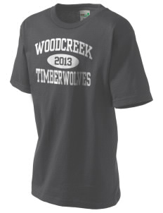Woodcreek High School Timberwolves Kid's Organic T-Shirt