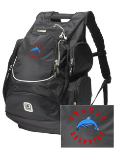 Chavez Elementary School Dolphins  Embroidered OGIO Bounty Hunter Backpack
