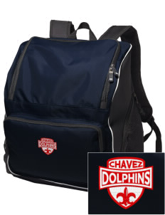 Chavez Elementary School Dolphins Embroidered Holloway Backpack