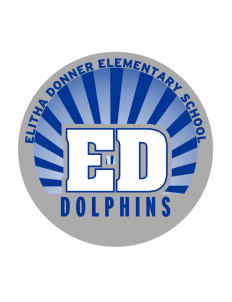 Elitha Donner Elementary School Dolphins Sticker
