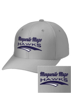 Marguerite Maze Middle School Hawks Embroidered Wool Adjustable Cap