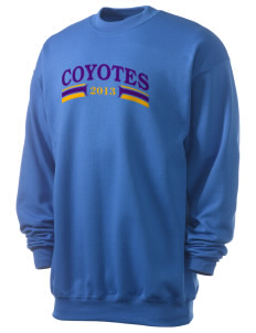 Desert Trails Elementary School Coyotes Men's 7.8 oz Lightweight Crewneck Sweatshirt