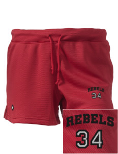 "A.B. Miller High School Rebels Embroidered Holloway Women's Balance Shorts, 3"" Inseam"