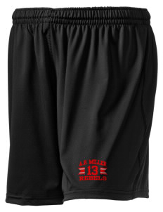 "A.B. Miller High School Rebels Embroidered Holloway Women's Performance Shorts, 5"" Inseam"