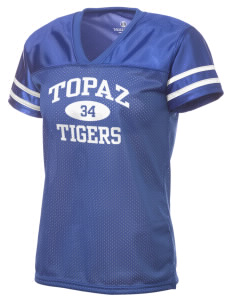 Topaz Elementary School Tigers Holloway Women's Fame Replica Jersey
