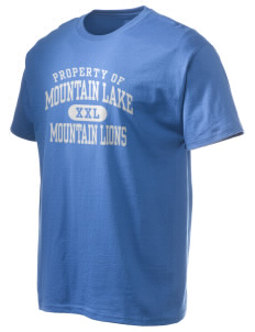 Mountain Lake High School Mountain Lions Hanes Men's 6 oz Tagless T-shirt