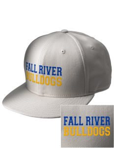 Fall River Senior High School Bulldogs  Embroidered New Era Flat Bill Snapback Cap