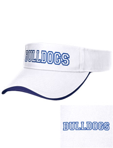 Fall River Senior High School Bulldogs Embroidered Binding Visor