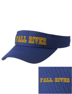 Fall River Senior High School Bulldogs Embroidered Woven Cotton Visor