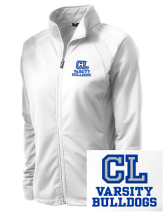 Community Learning Center Bulldogs Embroidered Women's Tricot Track Jacket