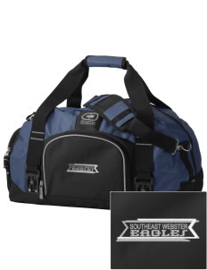 Southeast Webster Middle School Eagles  Embroidered OGIO Big Dome Duffel Bag