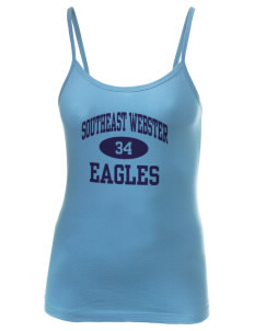Southeast Webster Middle School Eagles Women's Louise Longer Length Tank