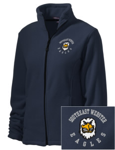 Southeast Webster Middle School Eagles Embroidered Women's Wintercept Fleece Full-Zip Jacket